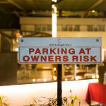 parking at owner's risk
